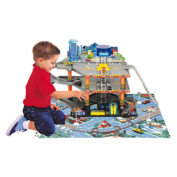 Magasins et catalogues de jouets for Garage petit noisy