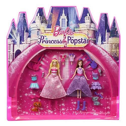 Barbie et autres figurines de femmes - Barbie et la princesse pop star ...